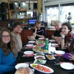 Our group at Lunch in Sderot