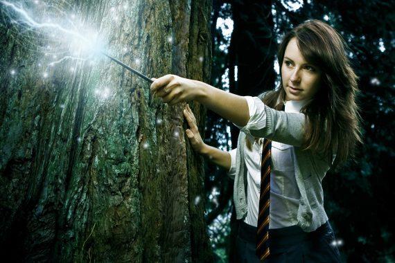bigstock-Wizard-Girl TreeOP