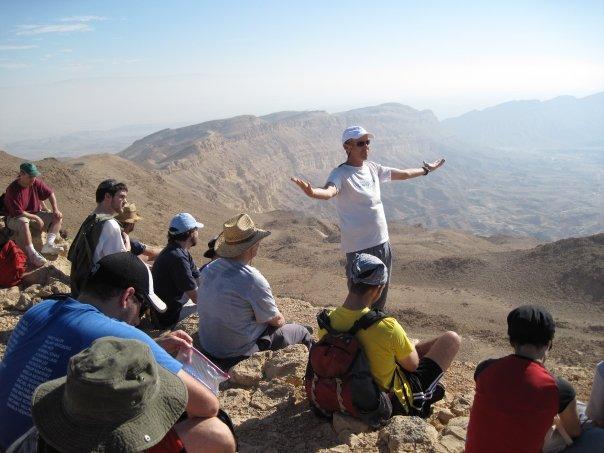 Dan Ofri at the Makhtesh Katan