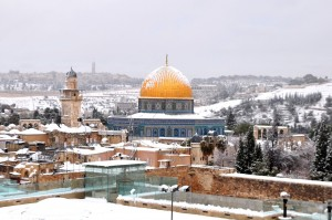 Dome of the Rock...I know many people don't like your location, but you're still gorgeous.