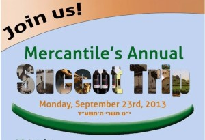 Invitation to Mercantile Bank's day trip