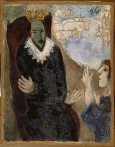 'Joseph Explains the Dreams of Pharaoh' by Marc Chagall
