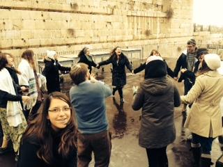 Dancing at my Bat Mitzvah, photo credit: Sara Spanjer (PEEP '14)