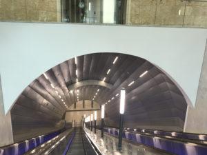 jerusalem light rail escalator